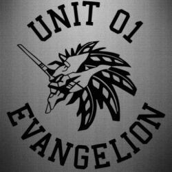 Наклейка Unit 01 evangelion