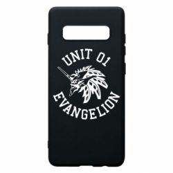 Чохол для Samsung S10+ Unit 01 evangelion