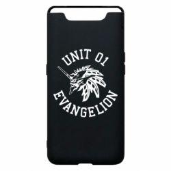 Чохол для Samsung A80 Unit 01 evangelion