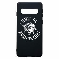 Чохол для Samsung S10 Unit 01 evangelion