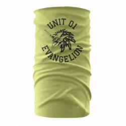 Бандана-труба Unit 01 evangelion