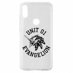Чехол для Xiaomi Mi Play Unit 01 evangelion