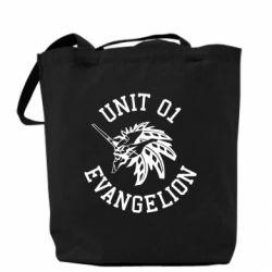 Сумка Unit 01 evangelion
