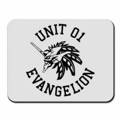 Килимок для миші Unit 01 evangelion
