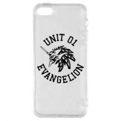 Чохол для iphone 5/5S/SE Unit 01 evangelion