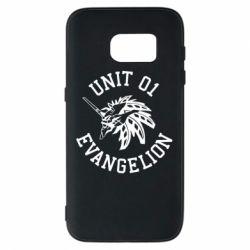 Чохол для Samsung S7 Unit 01 evangelion