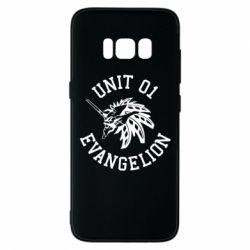 Чохол для Samsung S8 Unit 01 evangelion