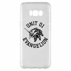 Чохол для Samsung S8+ Unit 01 evangelion