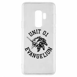 Чохол для Samsung S9+ Unit 01 evangelion