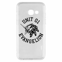 Чохол для Samsung A3 2017 Unit 01 evangelion