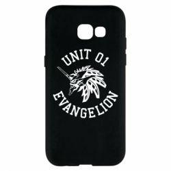 Чохол для Samsung A5 2017 Unit 01 evangelion