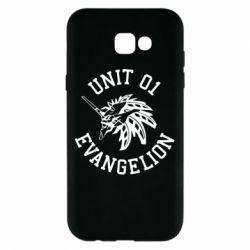 Чохол для Samsung A7 2017 Unit 01 evangelion