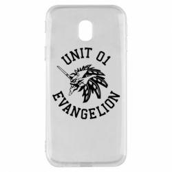 Чохол для Samsung J3 2017 Unit 01 evangelion
