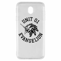 Чохол для Samsung J7 2017 Unit 01 evangelion