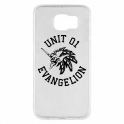 Чохол для Samsung S6 Unit 01 evangelion