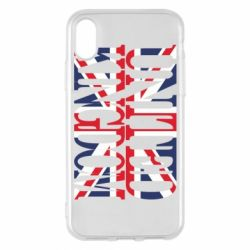 Чехол для iPhone X/Xs United Kingdom