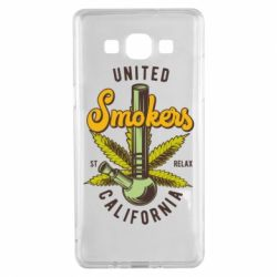 Чохол для Samsung A5 2015 United smokers st relax California
