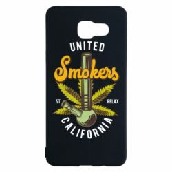 Чохол для Samsung A5 2016 United smokers st relax California