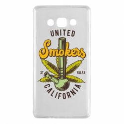 Чохол для Samsung A7 2015 United smokers st relax California