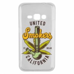 Чохол для Samsung J1 2016 United smokers st relax California