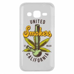 Чохол для Samsung J2 2015 United smokers st relax California