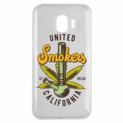Чохол для Samsung J2 2018 United smokers st relax California