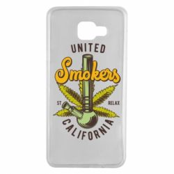 Чохол для Samsung A7 2016 United smokers st relax California