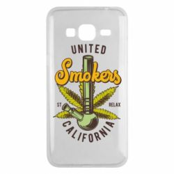 Чохол для Samsung J3 2016 United smokers st relax California
