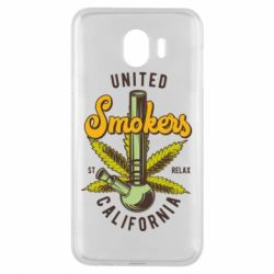 Чохол для Samsung J4 United smokers st relax California