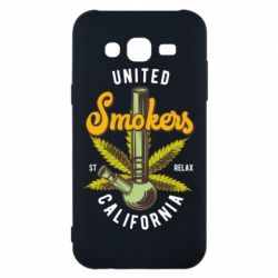 Чохол для Samsung J5 2015 United smokers st relax California