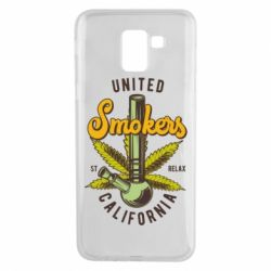 Чохол для Samsung J6 United smokers st relax California