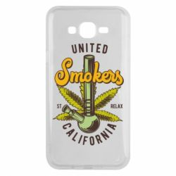 Чохол для Samsung J7 2015 United smokers st relax California