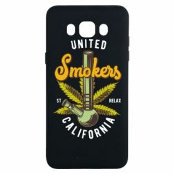 Чохол для Samsung J7 2016 United smokers st relax California