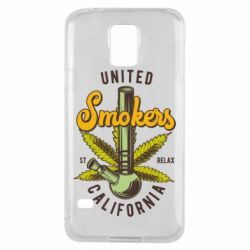Чохол для Samsung S5 United smokers st relax California