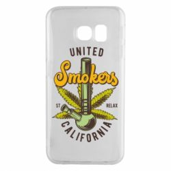 Чохол для Samsung S6 EDGE United smokers st relax California