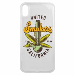Чохол для iPhone Xs Max United smokers st relax California