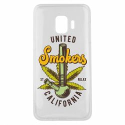 Чохол для Samsung J2 Core United smokers st relax California