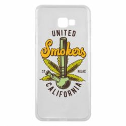 Чохол для Samsung J4 Plus 2018 United smokers st relax California
