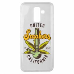 Чохол для Samsung J8 2018 United smokers st relax California