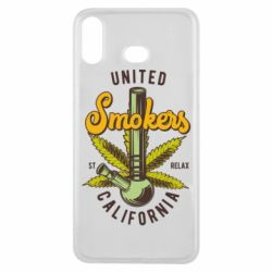 Чохол для Samsung A6s United smokers st relax California
