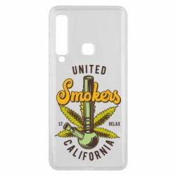 Чохол для Samsung A9 2018 United smokers st relax California