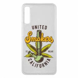 Чохол для Samsung A7 2018 United smokers st relax California