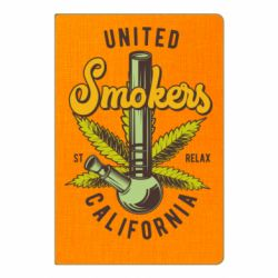 Блокнот А5 United smokers st relax California