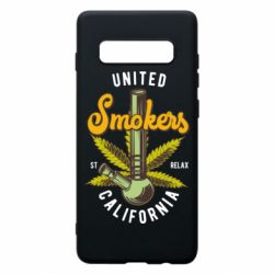 Чохол для Samsung S10+ United smokers st relax California