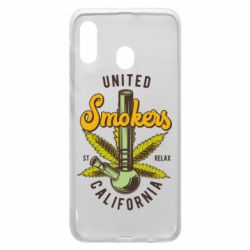 Чохол для Samsung A20 United smokers st relax California