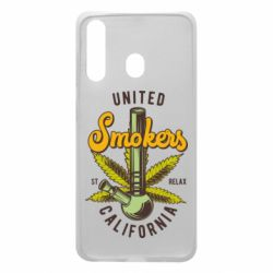 Чохол для Samsung A60 United smokers st relax California