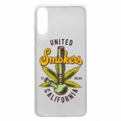 Чохол для Samsung A70 United smokers st relax California