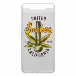 Чохол для Samsung A80 United smokers st relax California