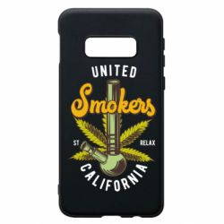 Чохол для Samsung S10e United smokers st relax California
