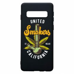 Чохол для Samsung S10 United smokers st relax California